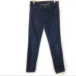 J. Crew Toothpick Ankle Skinny Jeans EUC